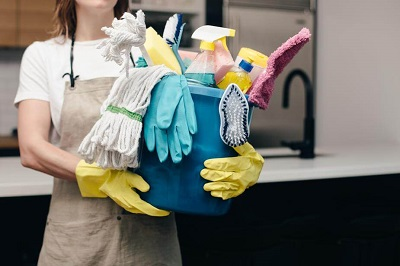 Cleaning supplies for Dorset end of tenancy cleaning