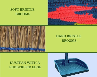 brooms to clean your Bournemouth house