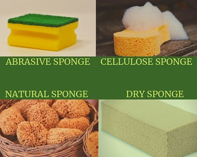 sponges for cleaning a Bournemouth home